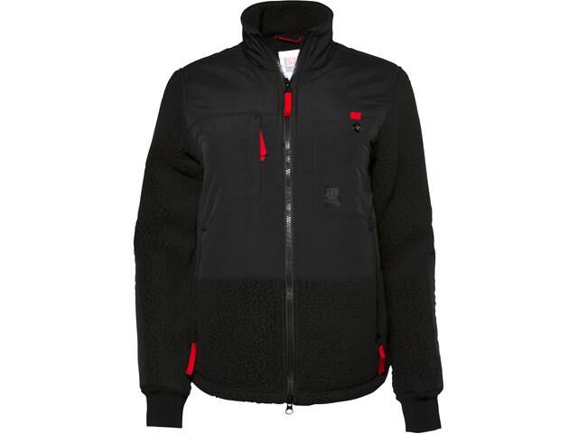 Topo Designs Subalpine Fleece Jas Heren, black